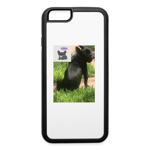 french bulldog - iPhone 6/6s Rubber Case