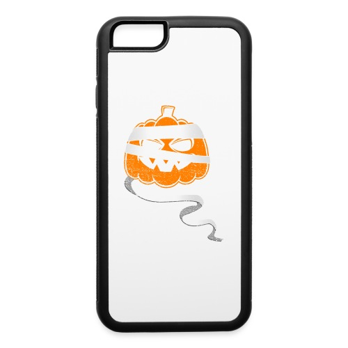 Halloween Bandaged Pumpkin - iPhone 6/6s Rubber Case