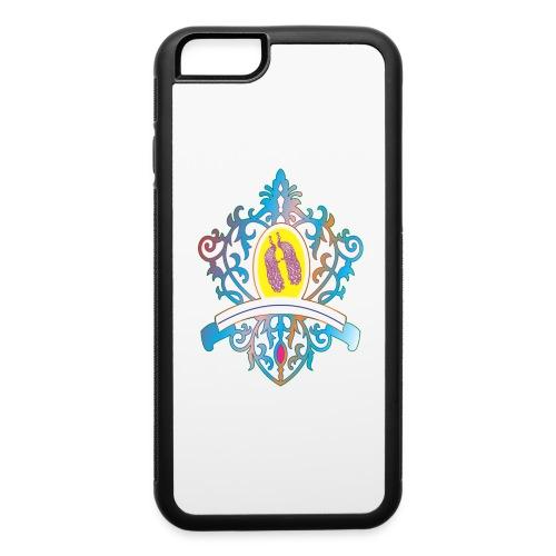 peacock love logo - iPhone 6/6s Rubber Case