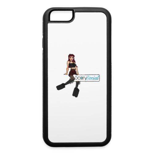 Scarysocial Merch - iPhone 6/6s Rubber Case