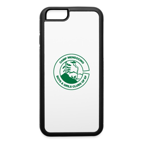 Camp Mendocino Green - iPhone 6/6s Rubber Case