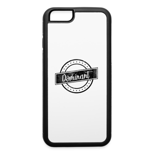 Dominant Retro Phone Cases - iPhone 6/6s Rubber Case