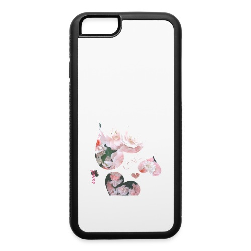 Roses with love, sweet - iPhone 6/6s Rubber Case