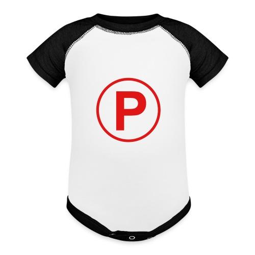 Presto569 Gaming Logo - Contrast Baby Bodysuit