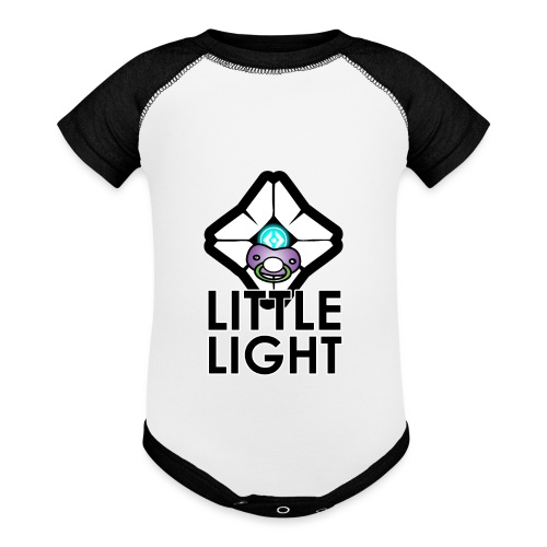 Little Light Ghost - Baseball Baby Bodysuit