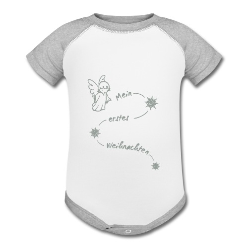 My first Christmas 2reborn - Contrast Baby Bodysuit