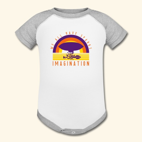 We All Have Sparks - Contrast Baby Bodysuit