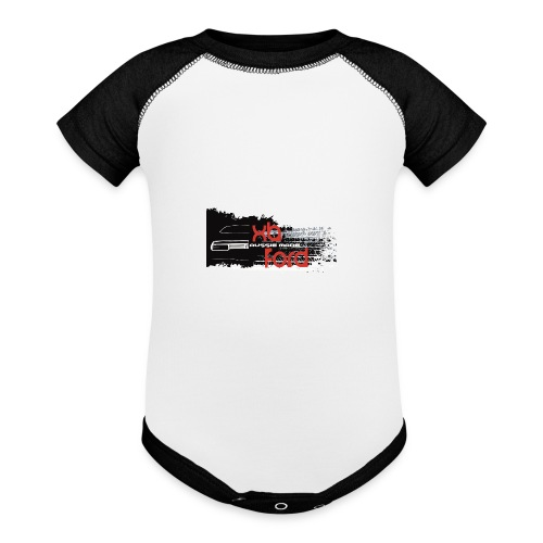 XB Coupe skid - Contrast Baby Bodysuit