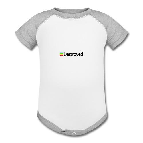 Polaroid Destroyed - Contrast Baby Bodysuit