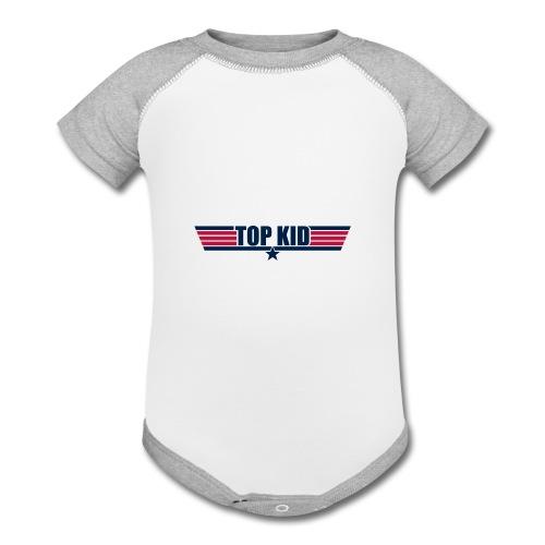 Top Kid - Contrast Baby Bodysuit