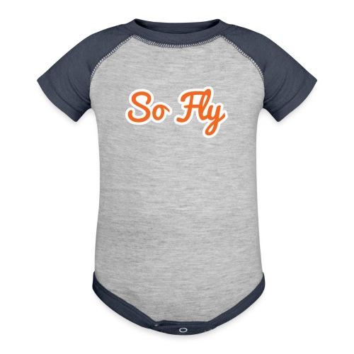 So Fly - Baseball Baby Bodysuit