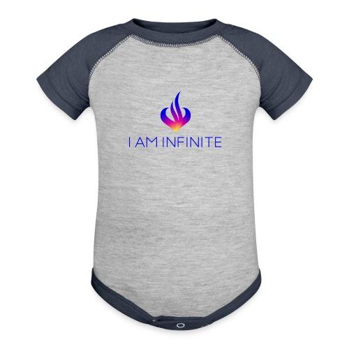 I Am Infinite - Baseball Baby Bodysuit