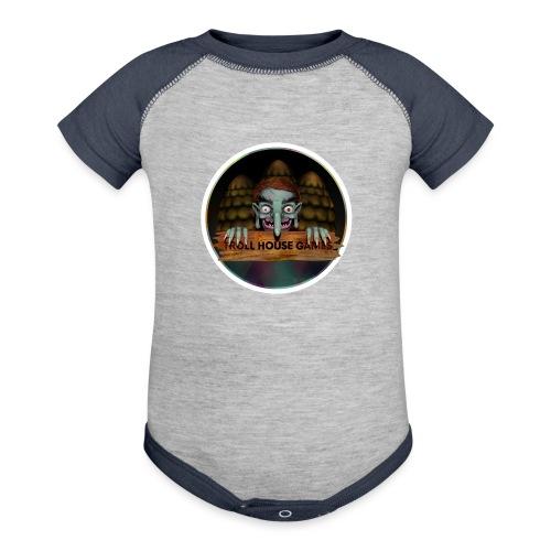 Troll House Games Logo - Baseball Baby Bodysuit
