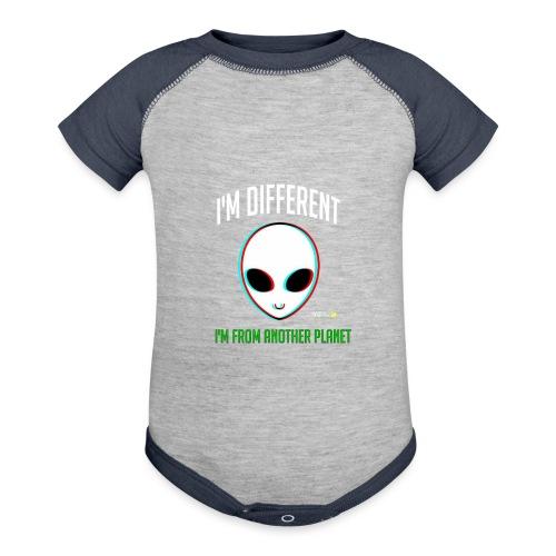 I'm different - Contrast Baby Bodysuit