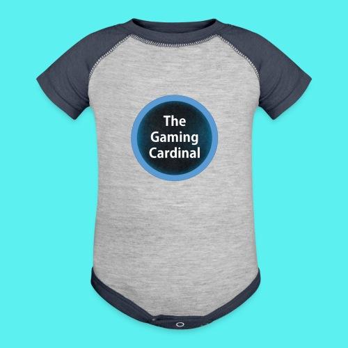 solo logo no back ground - Contrast Baby Bodysuit