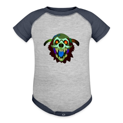 Dr. Mindskull - Baby Contrast One Piece