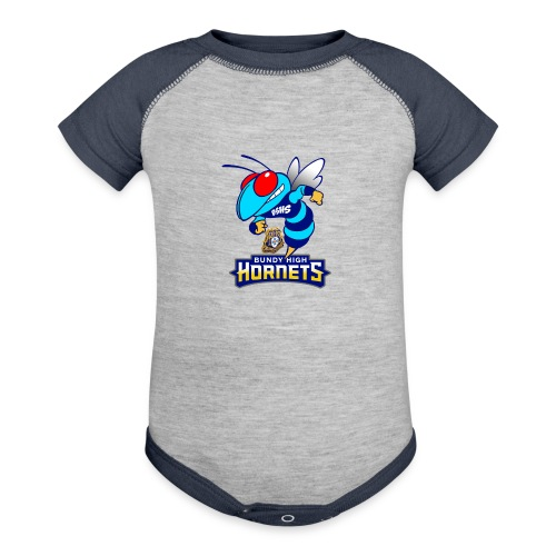 Hornets FINAL - Baseball Baby Bodysuit