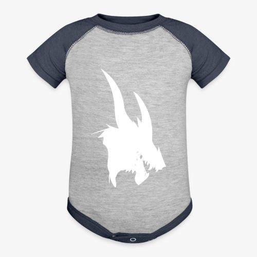 dragon sil - Baseball Baby Bodysuit