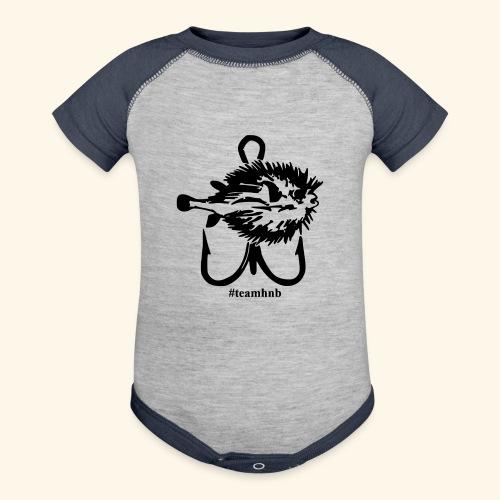 #teamhnb - Baseball Baby Bodysuit