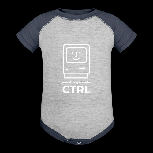 Everything is Under CTRL | Funny Computer - Baseball Baby Bodysuit