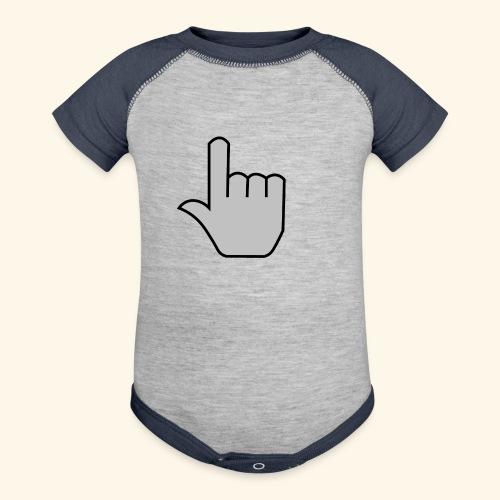 click - Baseball Baby Bodysuit
