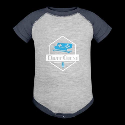 DivanQuest Logo (Badge) - Baseball Baby Bodysuit