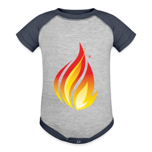 HL7 FHIR Flame Logo - Baseball Baby Bodysuit