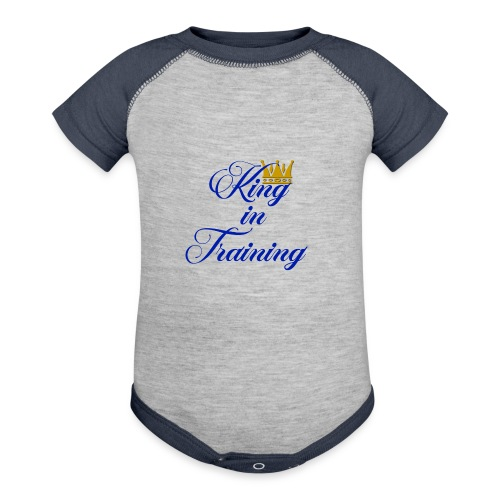 King in Training - Baby Contrast One Piece