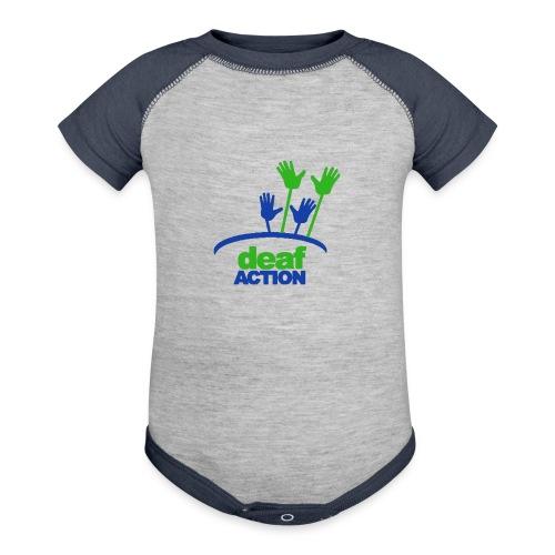 DA logo Color - Baseball Baby Bodysuit