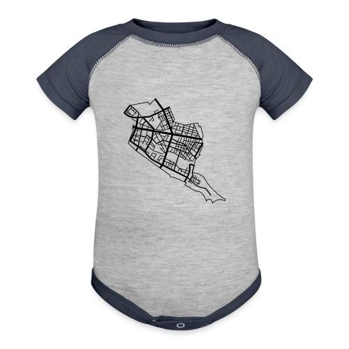 Friedrichshain Berlin - Baseball Baby Bodysuit