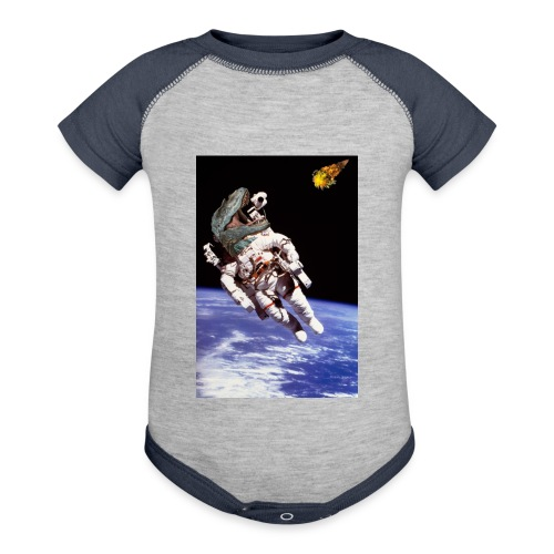 how dinos died - Baseball Baby Bodysuit