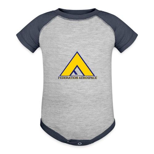 Federation Aerospace - Baseball Baby Bodysuit