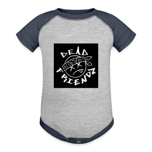 D.E.A.D FRIENDZ Records - Contrast Baby Bodysuit