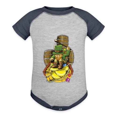 Angry Irish Leprechaun - Contrast Baby Bodysuit