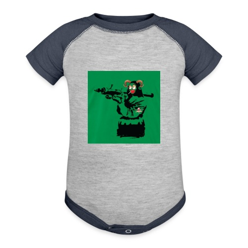 Baskey mona lisa - Contrast Baby Bodysuit