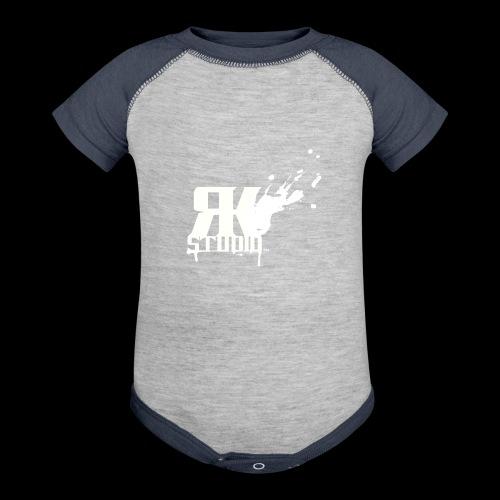 RKStudio White Logo Version - Baseball Baby Bodysuit