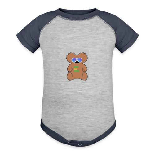 Aussie Dad Gaming Koala - Baseball Baby Bodysuit