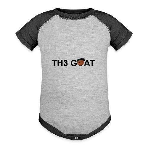 The goat cartoon - Baseball Baby Bodysuit