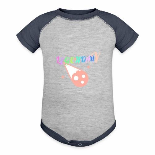 Legendary - Contrast Baby Bodysuit