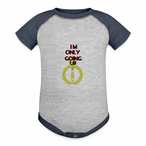 Im only going up - Baseball Baby Bodysuit