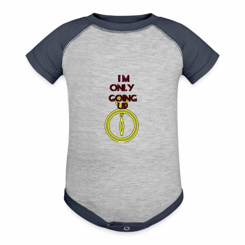 Im only going up - Contrast Baby Bodysuit