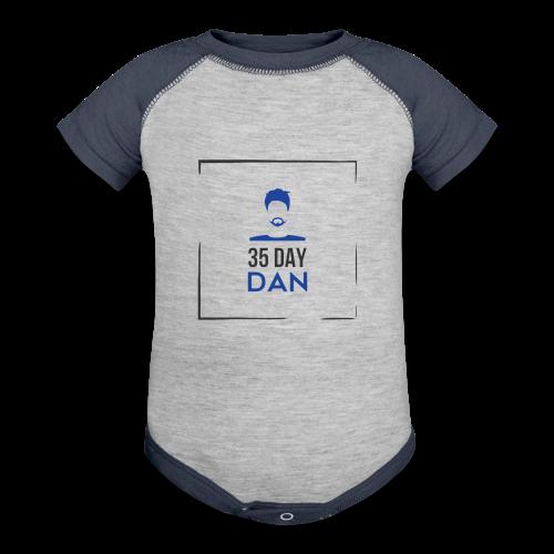 35DD Male - Contrast Baby Bodysuit
