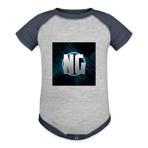 NadhirGamer Merch - Contrast Baby Bodysuit