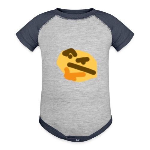 Weird baby - Contrast Baby Bodysuit