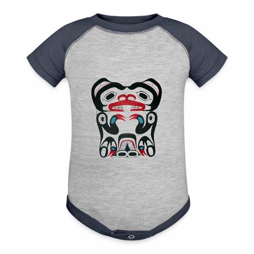 Eager Beaver - Contrast Baby Bodysuit