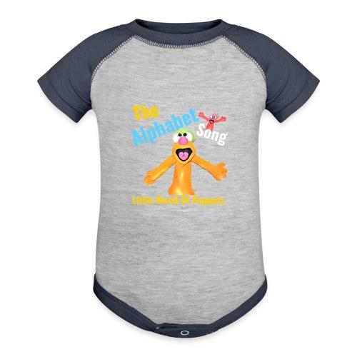 The Alphabet Song - Contrast Baby Bodysuit