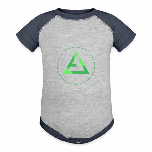 crypto logo branding - Baseball Baby Bodysuit