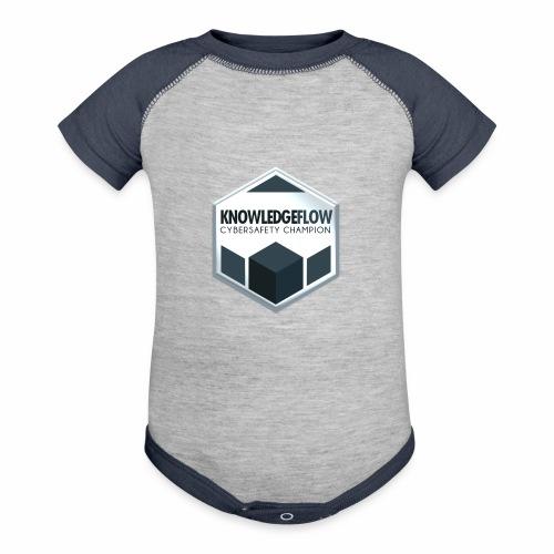 KnowledgeFlow Cybersafety Champion - Baseball Baby Bodysuit
