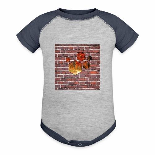 Wallart - Baseball Baby Bodysuit