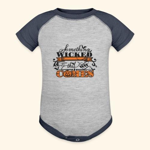 HALLOWEEN TEE - Baseball Baby Bodysuit